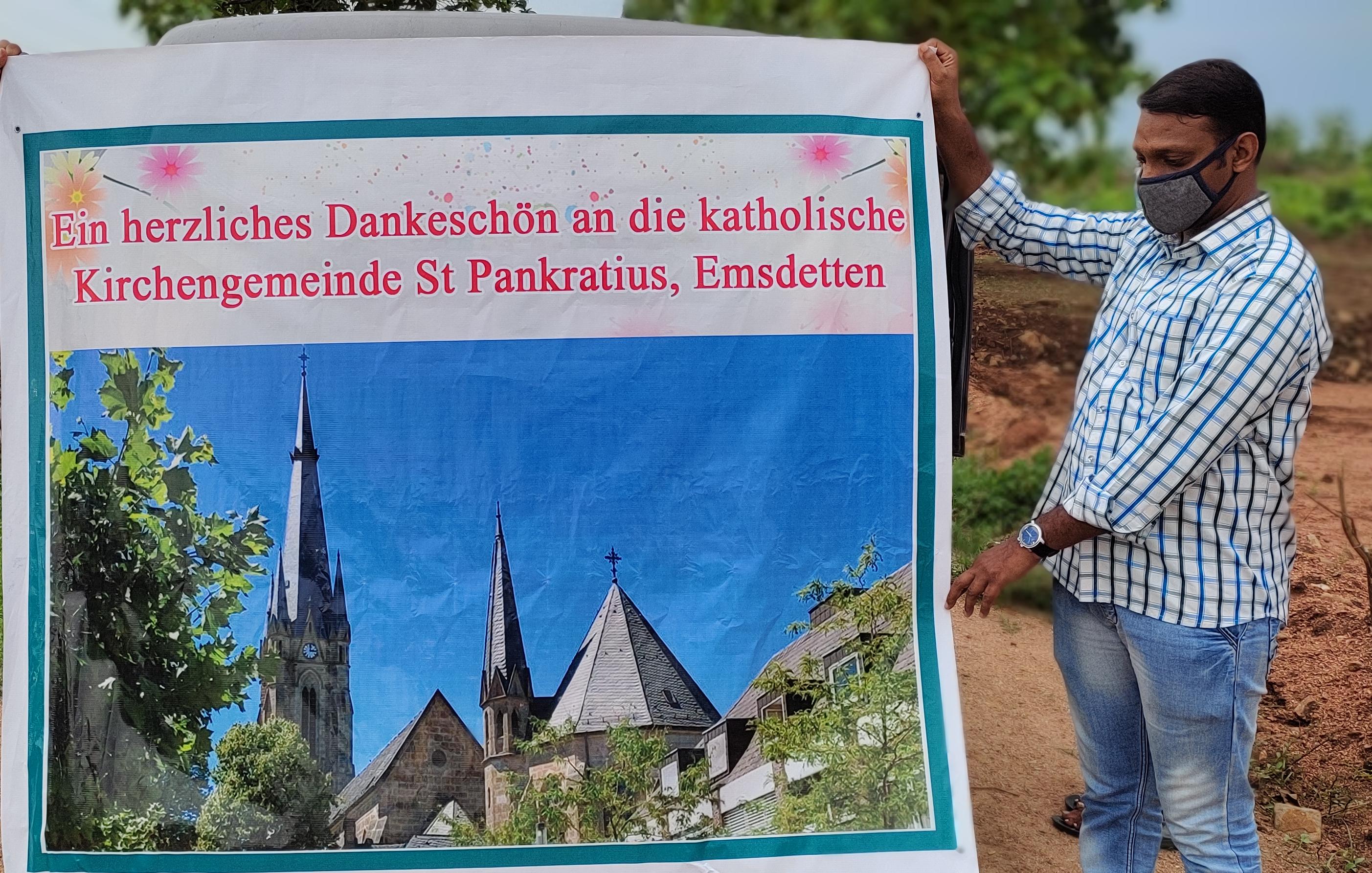 Danke für Ihre Indien-Spende im Bistum Abilabad