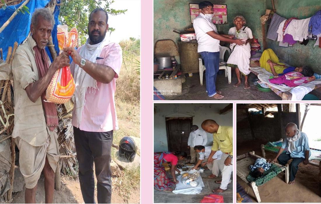 Spendenaufruf Corona-Nothilfe im Bistum Adilabad