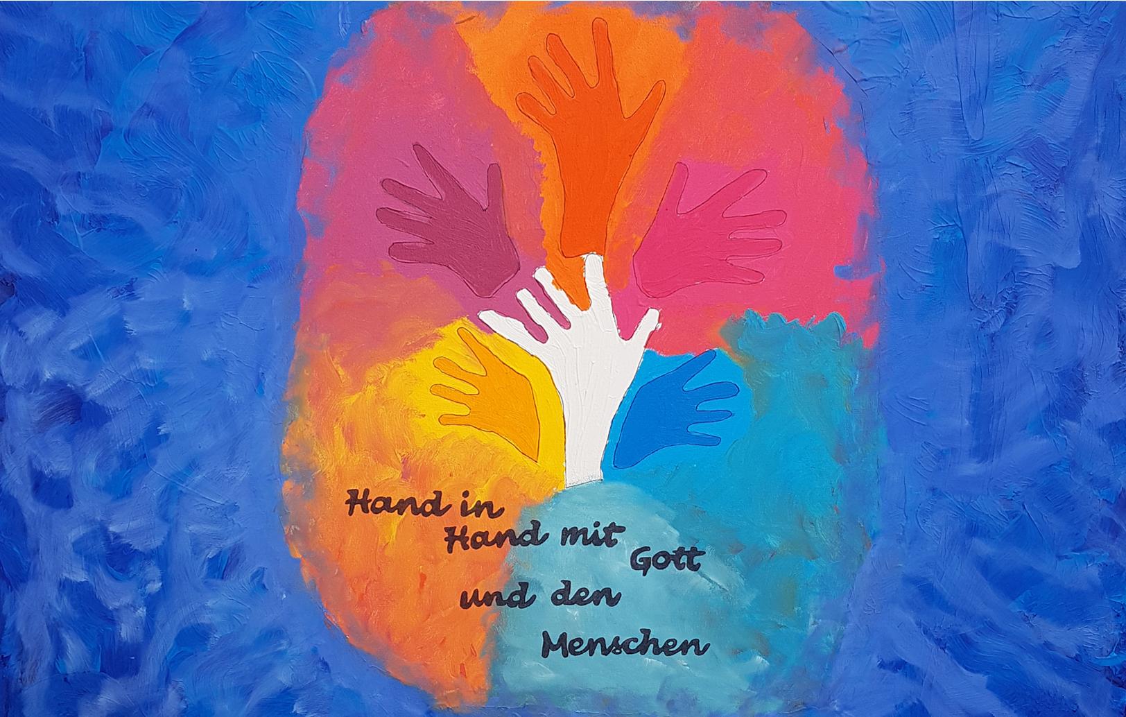 """""""Segen to go"""" auf dem Emsdettener Marktplatz"""