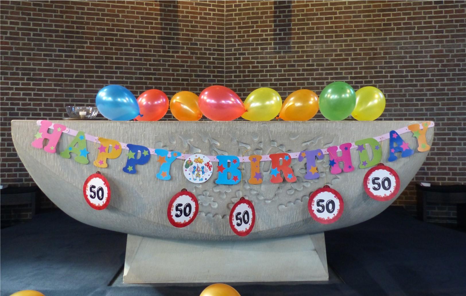 Gruß zum Geburtstag der Josefschule