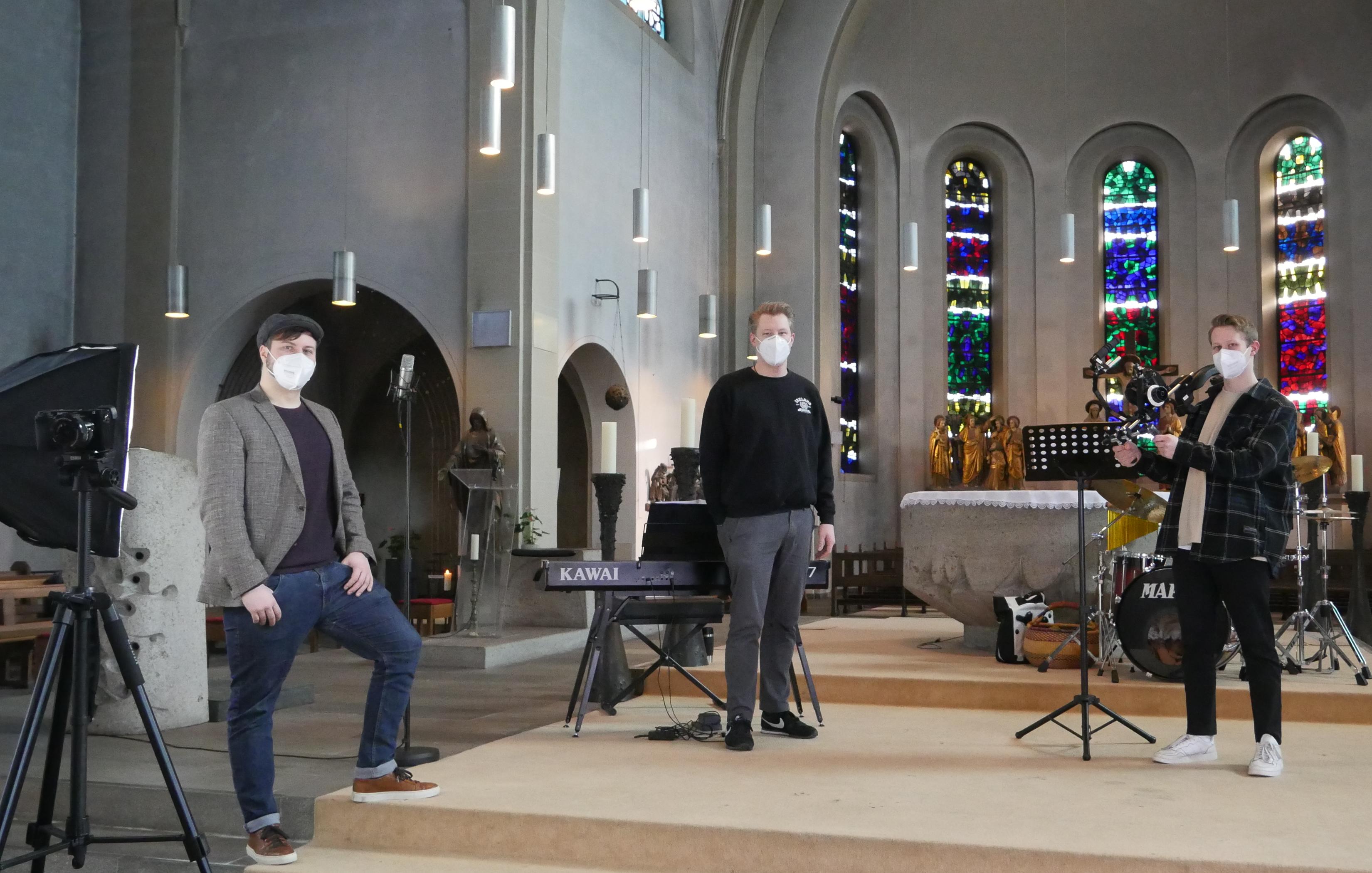 Musikalische Abendgebete online gemeinsam beten