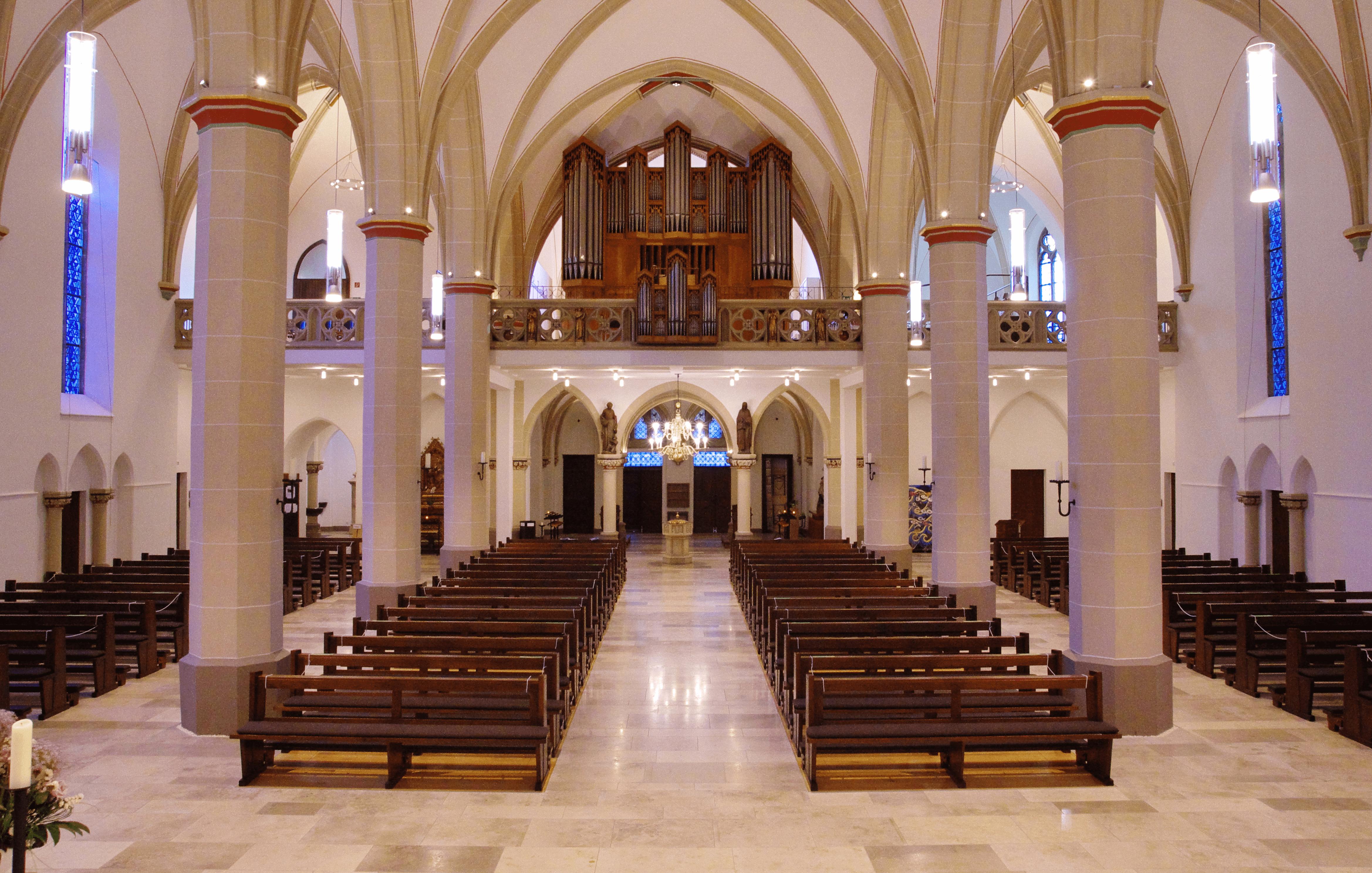 Impulse an Markttagen in der St. Pankratius Kirche